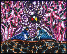 """8 La mujer, es la maestra que canta el canto de las aves. Es el canto del vuelo, de la alegría por la luz del Sol, es """"la mujer rocío fresco"""" de la mañana. Es el canto de la lluvia y el lenguaje de fuego."""