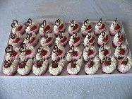 Semifreda s jahodami Earrings, Jewelry, Ear Rings, Stud Earrings, Jewlery, Bijoux, Jewerly, Ear Piercings, Ear Jewelry