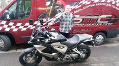 Enjoy your #Honda #VFR800 #Crossrunner Paul thanks again pal :) smcbikes.com http://ift.tt/2keX0OY