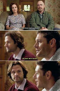 They are besties, Dean lmao