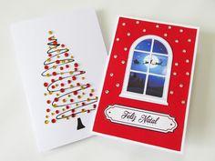Ideias Personalizadas : DIY: Como Fazer Cartões de Natal