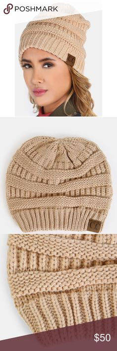 Knit Beanie COMING SOON !! Like this listing to be notified by price drop once it's available 😊  •NO TRADES• •FIRM PRICE•  ||  ||  ||  || Poly / rayon blend ||   Approximate flat measurements  waist length  - Boutique items are still in bag from manufacturer & stock photos are exact item - Lilacs & Lace Accessories Hats