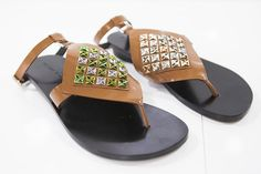 """Design Trendsetter 2015"" contest: Alain Tondowski flat sandals, S/S 2016 collection #alaintondowski #shoes #designtrendsetter2015"