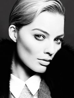 """photo by ben hassett Margot Robbie for Violet Grey """"Eyes on the Prize"""" - The Violet Files www.violetgrey.com"""