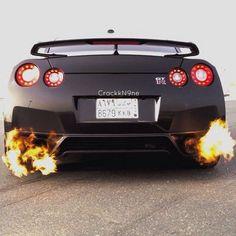 Burn Baby Burn - Nissan GTR