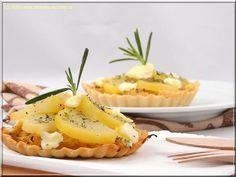 tartaletky se zelím a bryndzou Cantaloupe, Pineapple, Fruit, Recipes, Food, Pine Apple, Recipies, Essen, Meals