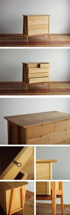 Japanese style drawers