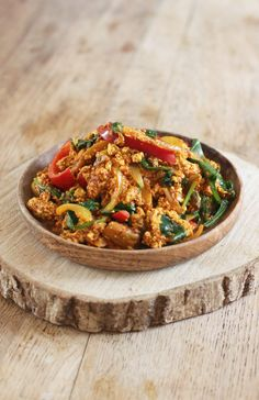 So delicious and full of flavour! Seitan, Tempeh, Tofu Recipes, Whole Food Recipes, Vegetarian Recipes, Cooking Recipes, Healthy Breakfast Recipes, Healthy Eating, Healthy Recipes