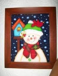 Imagen relacionada Christmas Holidays, Xmas, Christmas Ornaments, Pintura Country, Halloween, Holiday Decor, Google, Home Decor, Patchwork Embutido