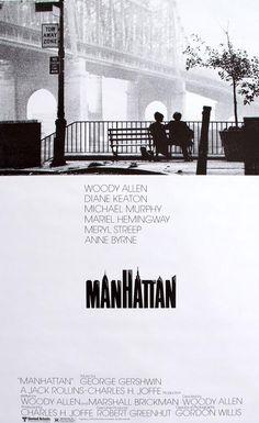 Manhattan (1979) Original One-Sheet Movie Poster