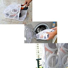 how to wash tennis shoes in washing machine