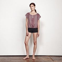 ACE & JIG PROJECT TOP SABLE REVERSIBLE SPREE