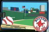 Boston Red Sox Luggage Tag by aminco. $6.10. Officially licensed Boston Red Sox vinyl luggage tag.  Tag measures approximately 2.5 x 4 inches and includes an address card.. Save 24%!