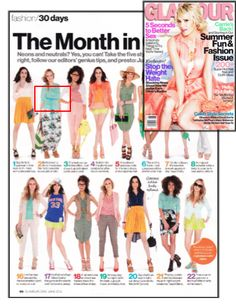 Check out this cute ADA belt in Glamour-June 2012