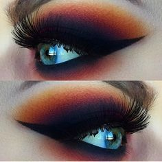 """""""Insanely beautiful eye by @emilycasanovamakeup ❤️ Get your Makeup news, tips, reviews, and exclusive interviews with us on iTunes ❄️Link in Bio❄️ or listen on our website ❤️ThisWeekinMakeup.com❤️"""" Photo taken by @twimakeup on Instagram, pinned via the InstaPin iOS App! http://www.instapinapp.com (12/19/2015)"""