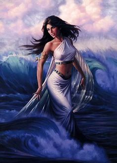 Amphitrite - Greek Goddess - Queen of the Sea, wife of Poseidon