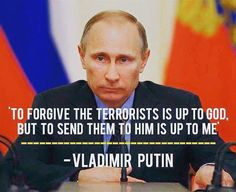 """DEUS VULT: PUTIN """"If you do not leave Syria alone, I'll bring back ..."""