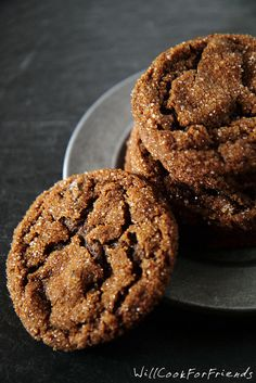 Triple Ginger Crinkles - The Ultimate Ginger Cookies