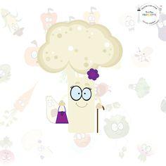 ANNE FLEUR LE CHOU-FLEUR La grand-mère de la Family Fourchette !  Nous sommes heureux de vous présenter Anne-fleur le chou-fleur ! Eh oui, c'est la mamie du groupe ! Mais c'est surtout l'amoureuse d'Henri le Brocoli… C'est grâce à ses astuces de grand-mère, que Mr et Mme fourchette arrivent à faire découvrir les vertus des légumes aux enfants !