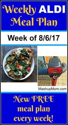 Here's your easy weekly ALDI meal plan for the week of 8/6/17: Pick up everything on the shopping list below, then start cooking on Sunday. *** Subscribe to the weekly ALDI meal plans here *** Did you catch this one? Back in May I visited my local ALDI and my local Walmart to compare prices. AsView Post