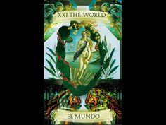 Arcano XXI,  o Mundo  (comentário no Periscope: @ALEXTAROLOGO)