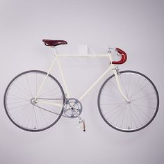 "Rack designed to offer ""a simple way to showcase your bike""."