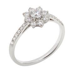 Pravins - Delicate Cluster Ring