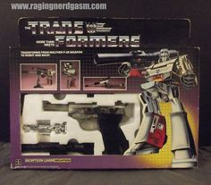 Transformers G1 Megatron - Hasbro 1984 original.  For more images check out our flickr at http://www.flickr.com/photos/ragingnerdgasm/sets/72157630274053272/