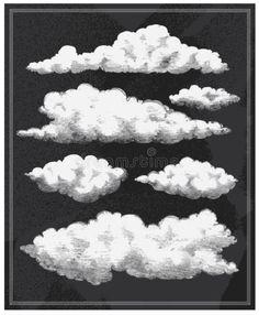 Illustration about Chalkboard vintage clouds vector background design. Illustration of background, cloud, steampunk - 36814080 Art Illustration Vintage, Cloud Illustration, Free Vectors, Free Vector Art, Background Pictures, Vector Background, Graffiti Lettering Fonts, Greek Mythology Art, Cloud Drawing