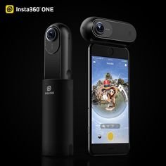 ONE 360 Camera photo and video, at resolutions of and 24 MP 6912 x Together with the optical flow image stitching, Vr Camera, Camera Shop, Video Camera, Image Stitching, High Definition, Nikon Digital Slr, Dslr Photography Tips