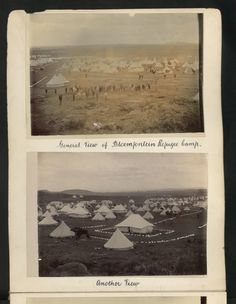 General View of Bloemfontein Refugee Camp. Oct 11, National Archives, Industrial Revolution, Afrikaans, Camps, Warfare, Warriors, British, Military