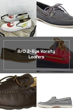 Sperry A/O 2-Eye Varsity Loafers - Olive Sperrys Men, Boat Shoes, Loafers, Eyes, Sneakers, Fashion, Travel Shoes, Tennis, Moda