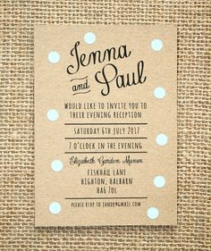 332 best evening wedding invitations images on pinterest in 2018