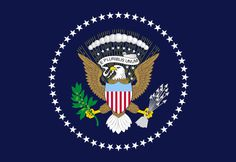 Archivo:Flag of the President of the United States of America.svg