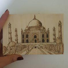 Pyrography, Taj Mahal, Building, Travel, Viajes, Buildings, Destinations, Traveling, Trips