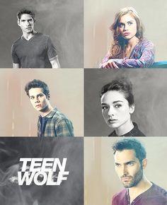 Scott, Lydia, Stiles, Allison, Derek; my favorites in the cast of Teen Wolf.