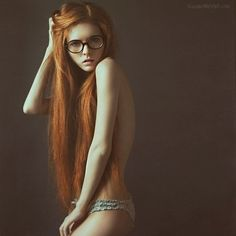 ginger, girl, hair