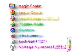 PianoBall options - Check yourself :)