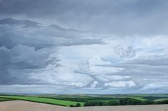 'After the Rain' - Oil on canvas by Hamish Baird. 75.5cm x 51cm. £675
