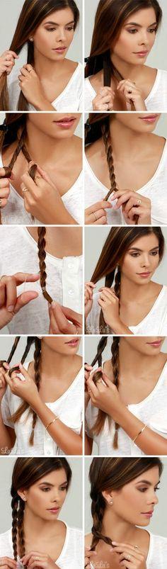 How-To: Chain Braid Hair Tutorial