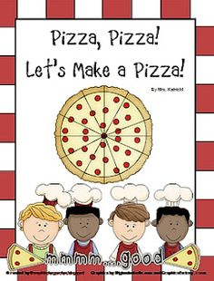 Lots of fun pizza craft ideas