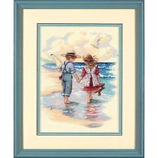 Dimensions D13721 | Holding Hands Picture Counted Cross Stitch Kit | 23 x 30cm