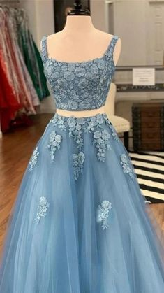 8th Grade Prom Dresses, Blue Homecoming Dresses, Pretty Prom Dresses, Prom Dresses Blue, Prom Party Dresses, Ball Dresses, Blue Quinceanera Dresses, Indian Prom Dresses, Pageant Dresses For Teens