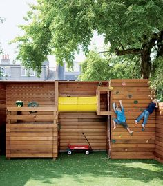 fun play structure