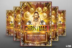 Christmas Eve Flyer Template V4 by Thats Design Store on @creativemarket