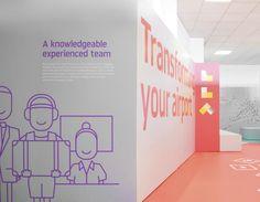 London Luton Airport Branding by Ico Design   Inspiration Grid   Design Inspiration