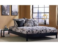 Murray Platform Bed -- This sleek piece is perfect for the modern home, featuring both simplicity and style.   cort.com