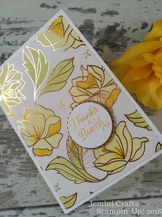 Easy colouring in with Stampin' Up! blends pens