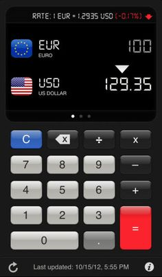 eCurrency -  Currency Converter & Calculator by Hendrik Holtmann