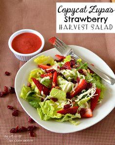 Copycat Zupa's Strawberry Harvest Salad l The Princess & Her Cowboys